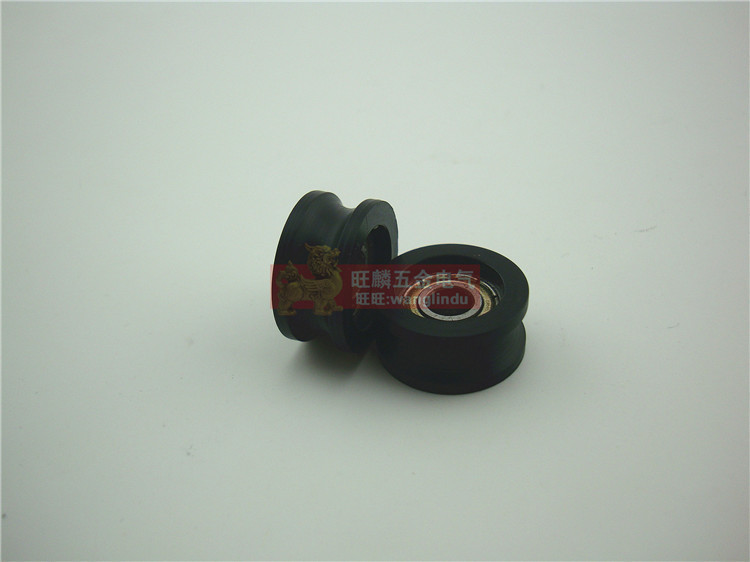 Lovely U-shaped Groov Pulley Nylon Groove Of The Rubber Note Moving Plastic Doors And Windows 696zz Bearing Removing Obstruction