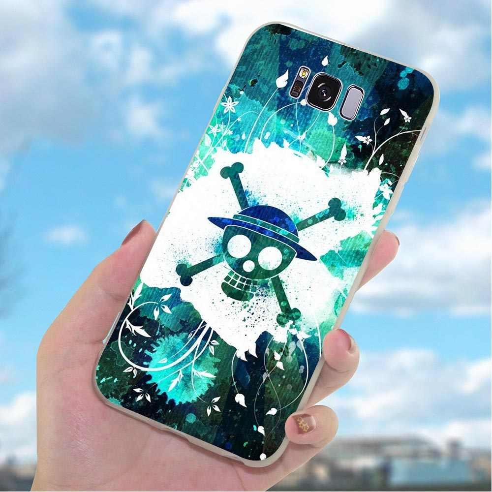 סיליקון מקרה עבור סמסונג גלקסי A8 2018 חתיכה אחת לופי טלפון כיסוי עבור A9 A10 A20 A30 A40 A50 A70 j3 J5 J6 J7 A5 2017 A6 A7