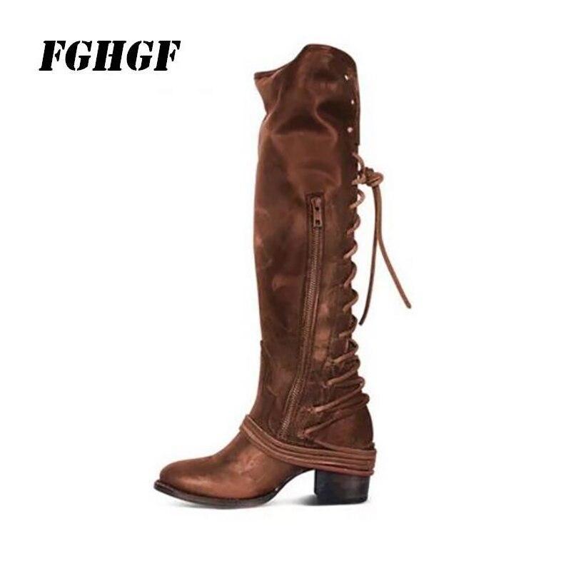Посылка почтовых отправлений, новинка 2018 года, ботинки на платформе в стиле ретро, женские ботинки с кисточками, ботинки на высоком каблуке, ...