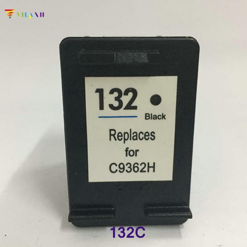 Совместимый чернильный картридж Vilaxh, замена для hp 132 Photosmart C3100 C3183 C3150 C3180 PSC 1510 1513 1600 1610 2300 2355 2610