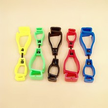 5pcs plastic working Glove Clip plastic AT-1 type Work clamp safety work gloves clips Guard Labor supplies
