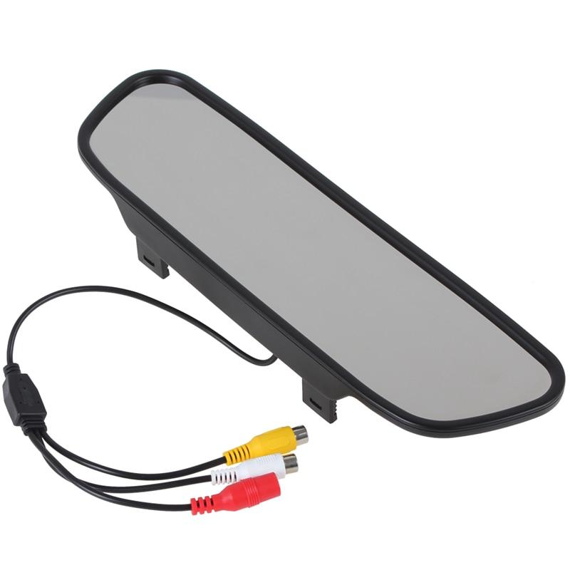 5 Inch 480 x 272 Түсті TFT LCD Автомобиль Айна - Автомобиль электроникасы - фото 3