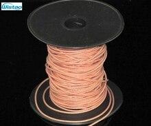 Occ Замороженные сигнала Кристалл Медь 7n (99.99995%) провода 22awg для поделок наушников Кабели Усилители домашние соединительный кабель 1 м Бесплатная доставка