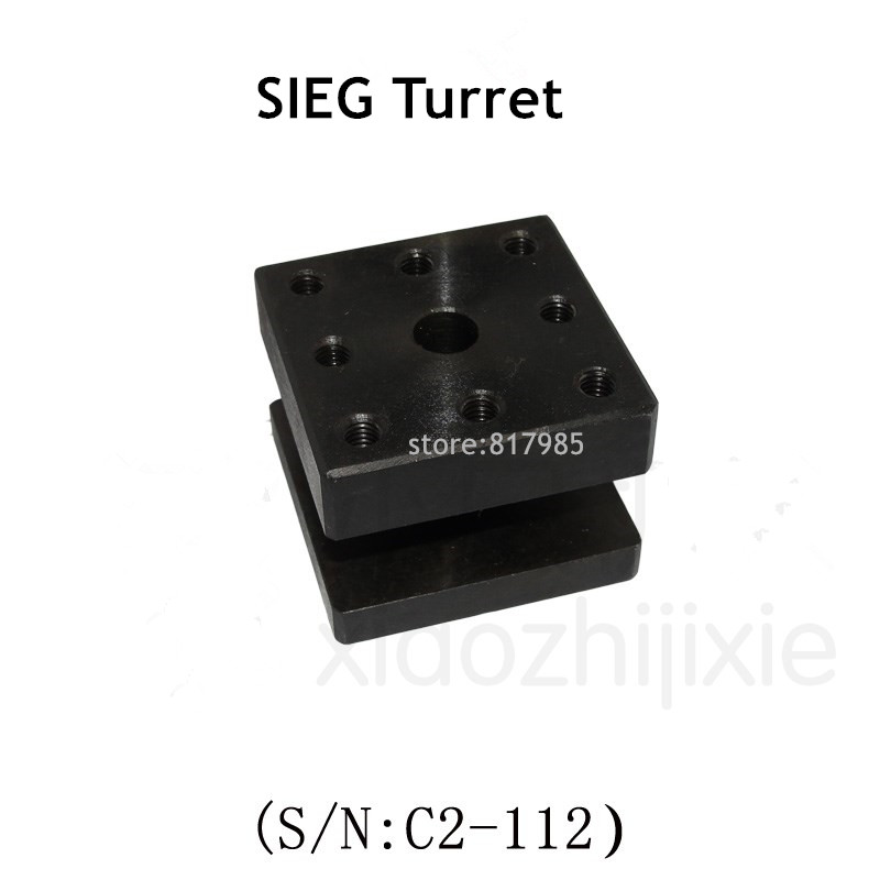 Small Metal Lathe Turret Mini DIY Small Homemade Mini SIEG S/N:C2-112 Lathe Turret  Toolholder