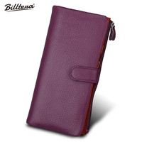 Hot Explosion Models Candy Colored Leather Wallets Card Bag Lady Multi Multi Card Wallet Hand Bag