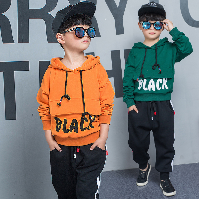2018 Spring New Kids Clothing Sets Sport Long Sleeve Toddler Boy Clothes Set Children Hoodies Boys Sweatshirts Kids Harem Pants boys trackpants kids winter pants children trousers full length boy harem pants children clothing brand boys clothes page 8
