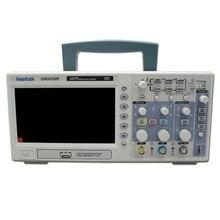 Hantek DSO5102P dijital osiloskop taşınabilir 100MHz 2 kanal 1GSa/s kayıt uzunluğu 40K USB LCD el Osciloscopio 7 inç