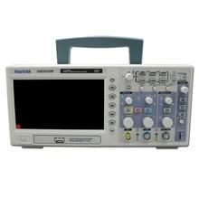 Hantek Osciloscopio Digital portátil DSO5102P, 100MHz, 2 canales, 1GSa/s, longitud de grabación, 40K, USB, LCD, de mano, Osciloscopio de 7 pulgadas