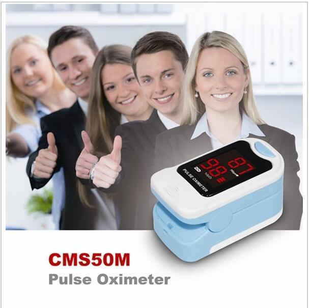 2017 Popular Finger Pulse Oximeter,SPO2,PR Monitor,Blood Oxygen,CMS50M,Newest 8