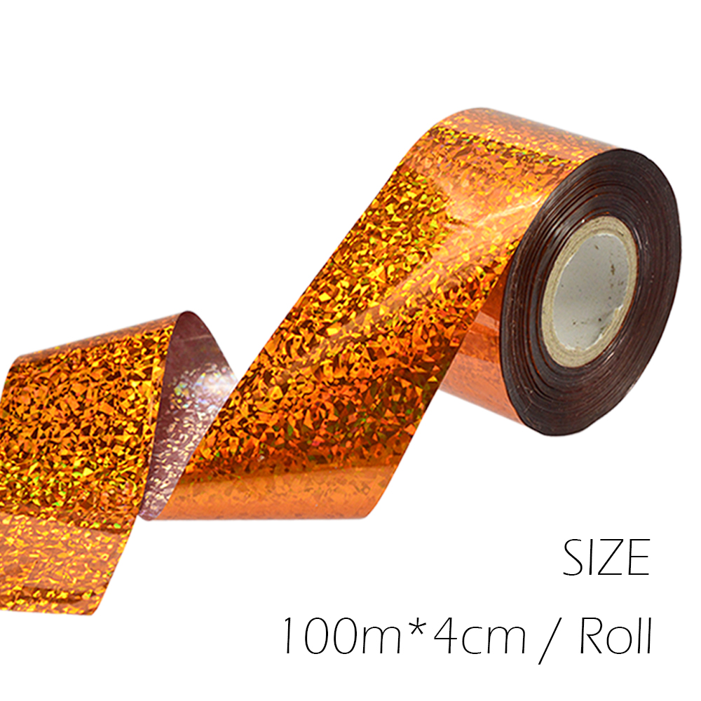 1 Roll 100m Starry Sky Nail Foils Nail Art Transfer Stickers Decal Gold Red DIY Nail Tips Decorations Foil Paper Manicure SA110