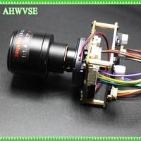 HKES HD 1920 1080P 720P 960P HD POE IP Mini Camera Kamera Module Board 2 8