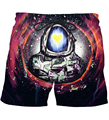 Newest Astronaut Prints Short Pants Space Galaxy 3D Shorts Male Hipster Hip Hop Board Shorts Vacation Casual Beach Shorts
