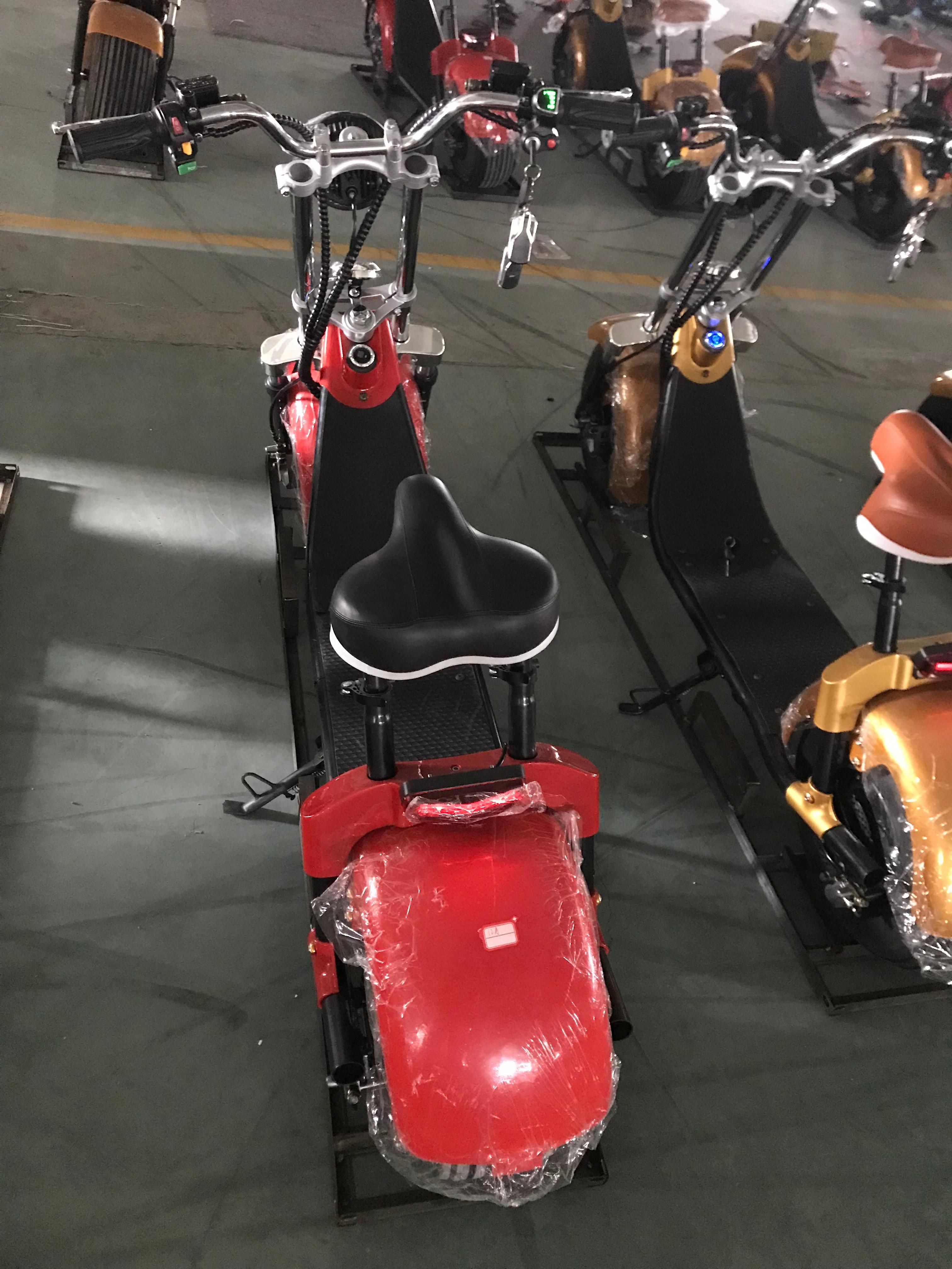 Sc10 pro 1500 w 60 v 12ah batterie amovible citycoco hors route scooter électrique navire de hollande