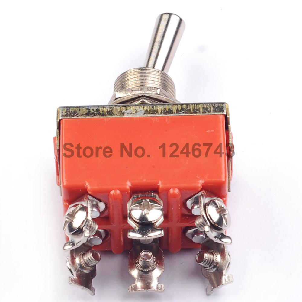 Low Price 2pcs 1321 Toggle Switch Rocker Double 6p