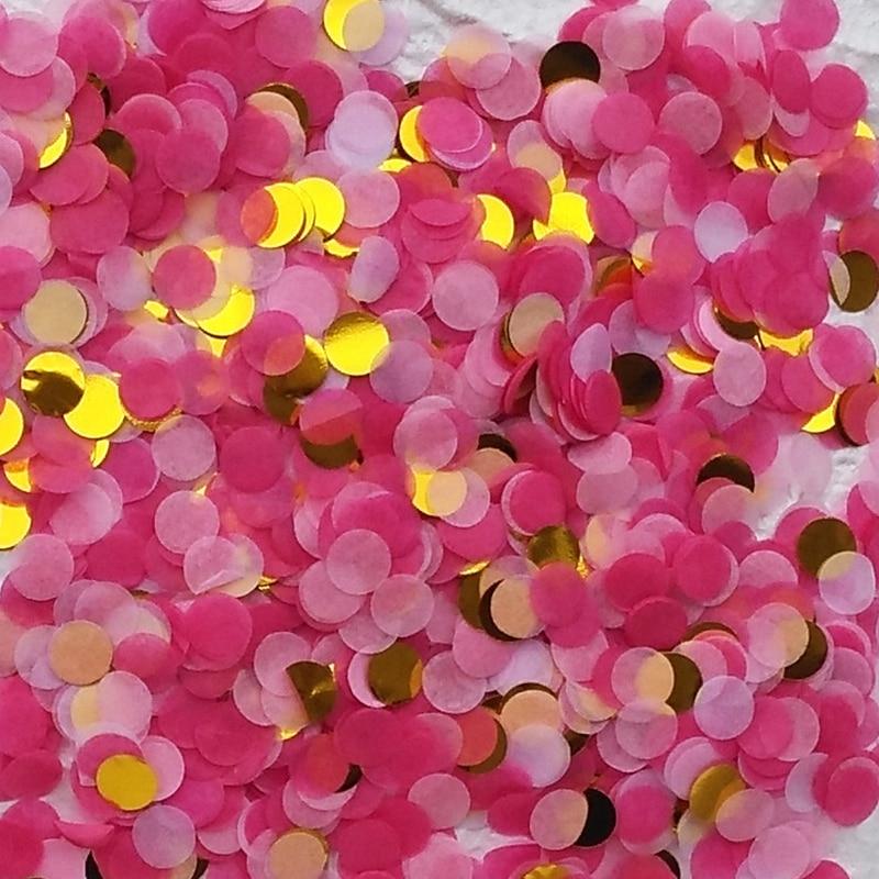 Vermetel 1 Cm 10g Om Papper Confetti Confetti Ronde Stuk Papier