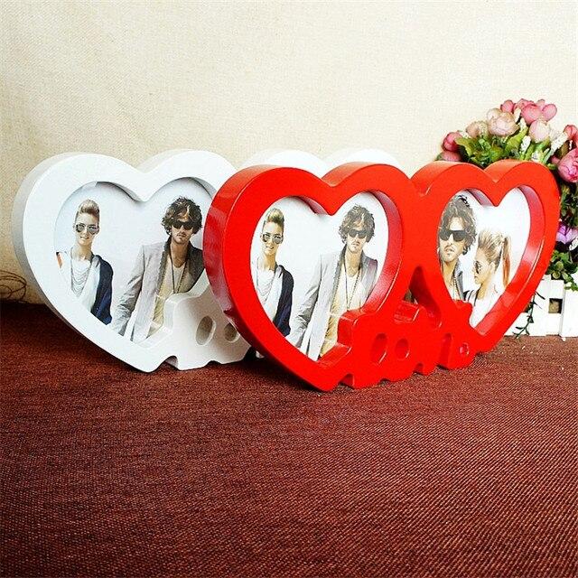 Forma de corazón photoes Marcos amor pareja imagen Marcos boda foto ...