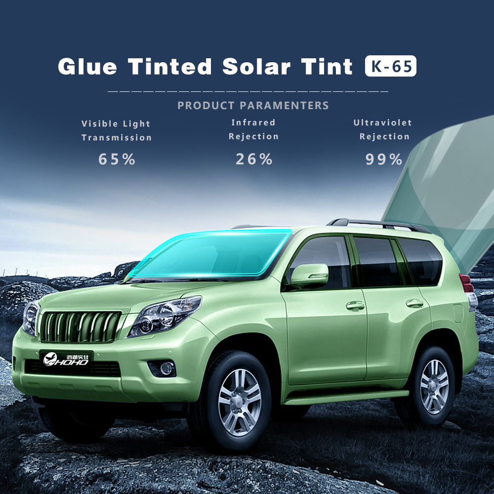 Window Tinting Blue Reflective Window Tint 65% VLT Solar Film ...