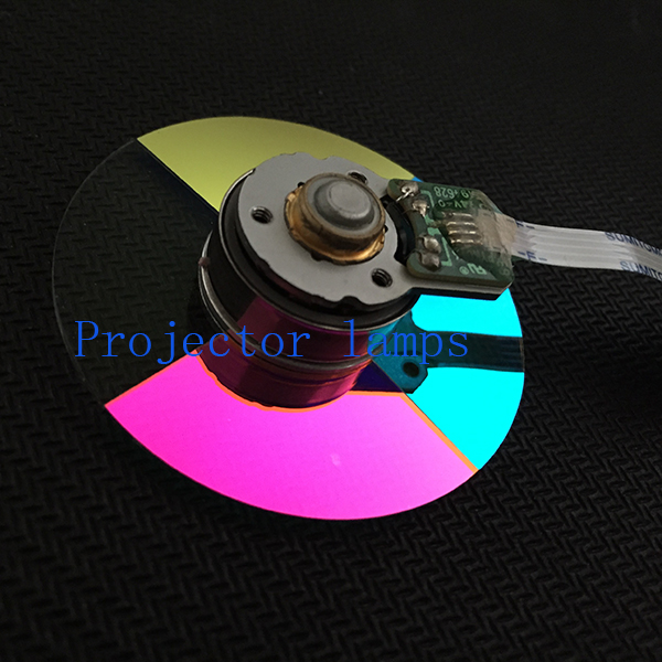 100% NEW original Projector Color Wheel  for vivitek d517 COLOR WHEEL free shipping new original projector color wheel for vivitek d742hdc color wheel 1pcs