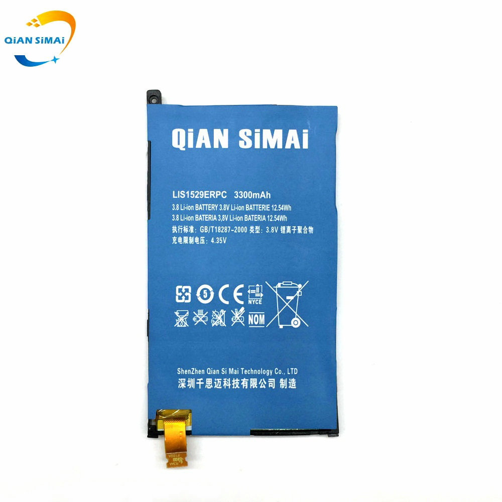 QiAN SiMAi LIS1529ERPC Battery Replacement For Sony Z1 mini Z1mini D5503 Z1 Compact M51w Mobile Phone 1PCS New +Track Code