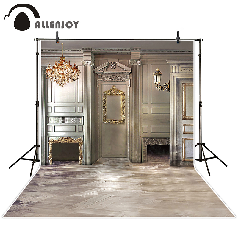 Allenjoy photographic background European royal family living room backdrops princess boy studio fabric 7x5ft