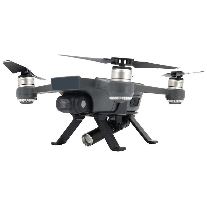 JMT Night Flight Lights LED Light Landing Gear Skid Lamp for DJI /Spark Remote Control FPV Mini Quadcopter Drone Accessories