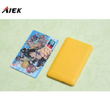 30 Pcs/lot Ultra Thin AIEK/AEKU X6 Mini Cell Card Phone Student Unlocked Mini Mobile Phone Pocket with Russian Keyboard PK M6 E1