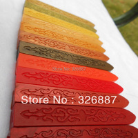 Retail Sealing wax seal dedicated beeswax, wax strips branding paint stamp Wax 24 color available