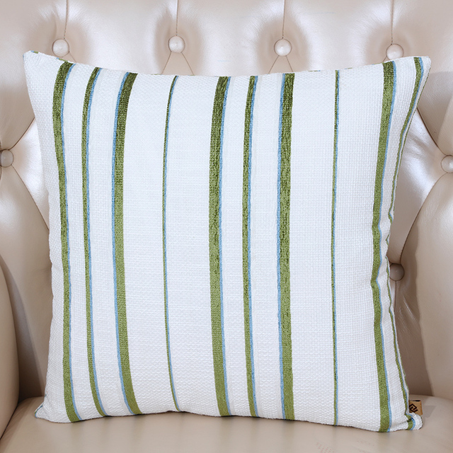 New Stripe Cushion Pillow Covers 18 inch 20 inch 24 inch Sofa Seat