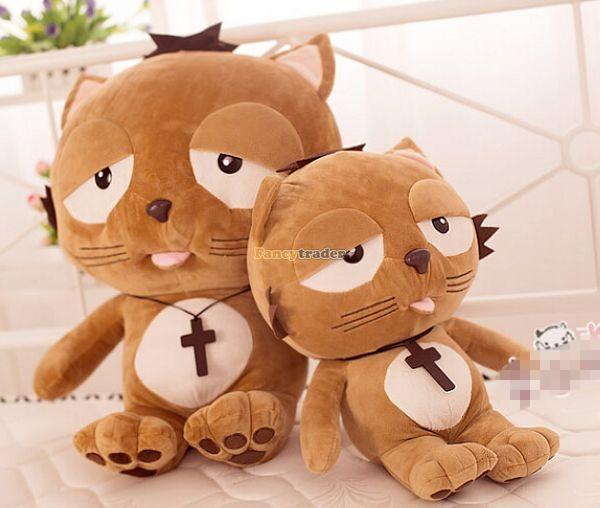 Fancytrader 35\'\' 90 Korean TV Soaps Plush Stuffed Lzay Dinga Cat, Free Shipping FT50250 (3)