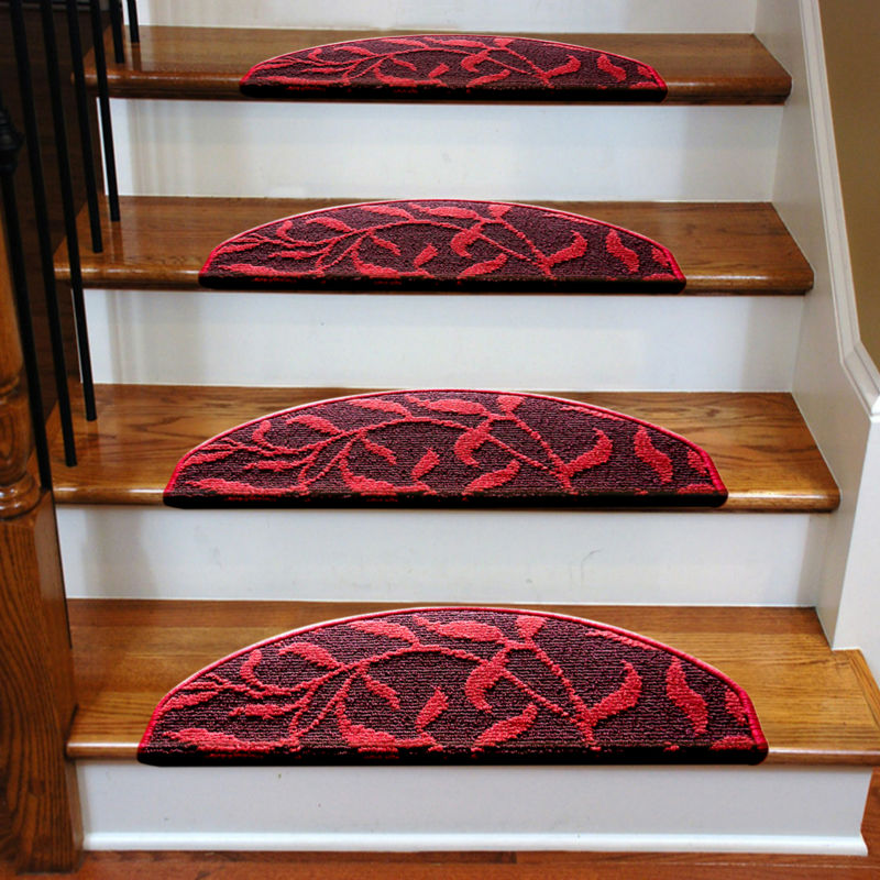 High Grade Staircase Carpets Non Slip Mats And Rugs For Stairs Skid Treads  Pad Thickening /Durable Stable Adhesion No Glue QB 1 In Carpet From Home U0026  Garden ...