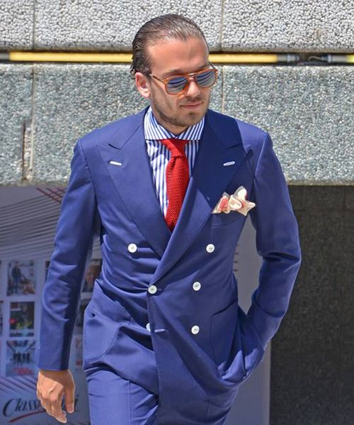 2017 Latest Coat Pant Designs Blue Men Suit Groom Double Breasted Tuxedo Slim Fit 2 Piece Custom Wedding Suits Prom Blazer Terno