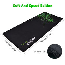 Rubber Razer Goliathus Mantis Speed Edition Gaming Mouse Pad Game PC Mat Large XL Size 700*300*3MM