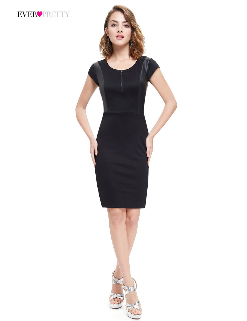 [Clearance Sale]   Cocktail     Dress   Ever Pretty HE05306 Women A-line Hot Sale Affordable Medium Stretch Elegant   Cocktail     Dresses