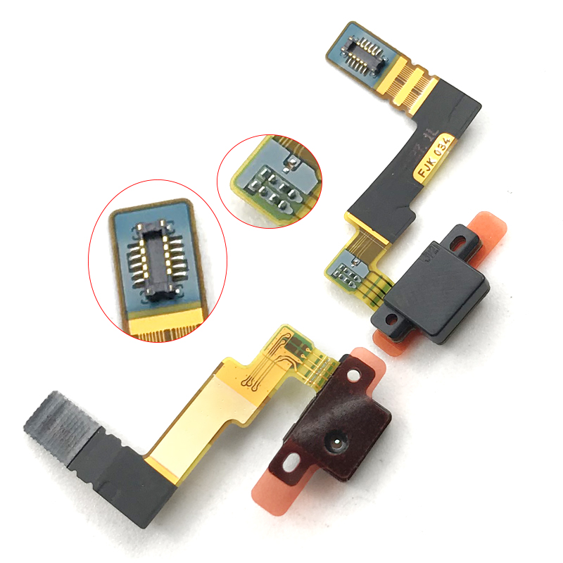 New Microphone Mic Module Board Flex Cable For Sony Xperia Z5 E6683 E6653 E6633 Z5 Dual Replacement Parts