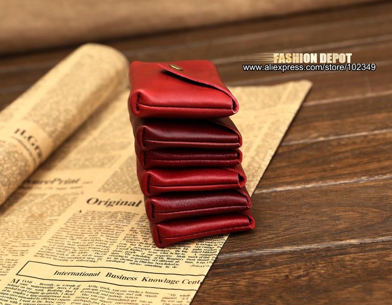 Vintage Genuine Leather Credit Card holder 19991# (12)