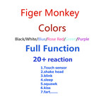 6 colors Cute Smart Colorful Finger Baby Monkey Animal Interactive Monkey Baby Toy Electronic Finger Pets finger monkey