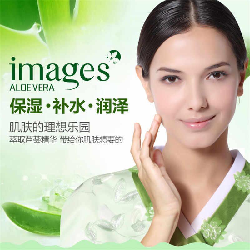 Aloe Vera Máscara Anti-envelhecimento Hidratante Whitening Máscara Facial Envolto Máscara Diminuir Os Poros Máscara Facial do Cuidado Da Pele