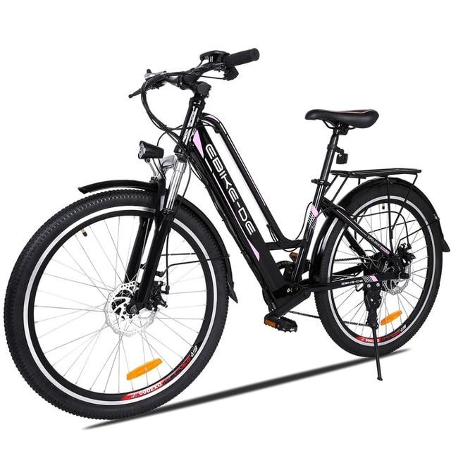 Новый 26 дюймовый электровелосипед Электрический велосипед Открытый 250 Вт высокая скорость Электрический горный велосипед E-Bike EU штекер Скутер мопед мото eletrica