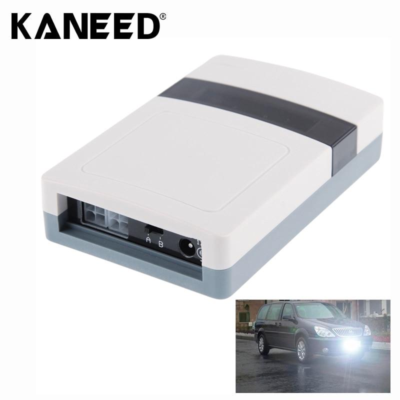 2 PCS DC 12V Car License Plate Anti Photo Radar Device Interior Accessories ...