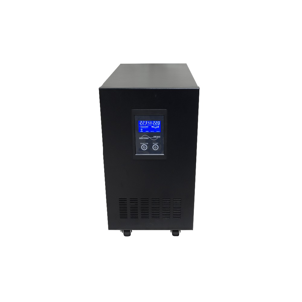 6KVA 5000W DC48V TO AC220V Low Frequency Pure Sine Wave Line Interactive UPS with battery charging function 2kva pure sine wave line interactive ups 1kva 3kva 5kva 6kva ups power supply 110v 220v 240v