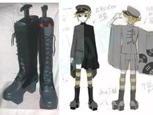 Vocaloid Senbonzakura LEN Long Cosplay Boots Shoes s008