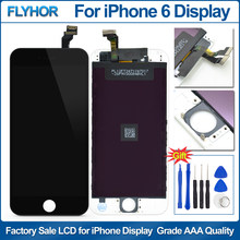 Pantalla for iPhone 6 Display Touch Screen Digitizer Replacement Grade AAA Quality Screen for iPhone 6 LCD Display Assembly part(China)