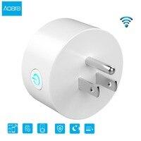 Aqara Wi-Fi Smart Plug США бытовой мощность управление разъем беспроводной Дистанционное управление США Plug с функцией таймера оптовая продажа