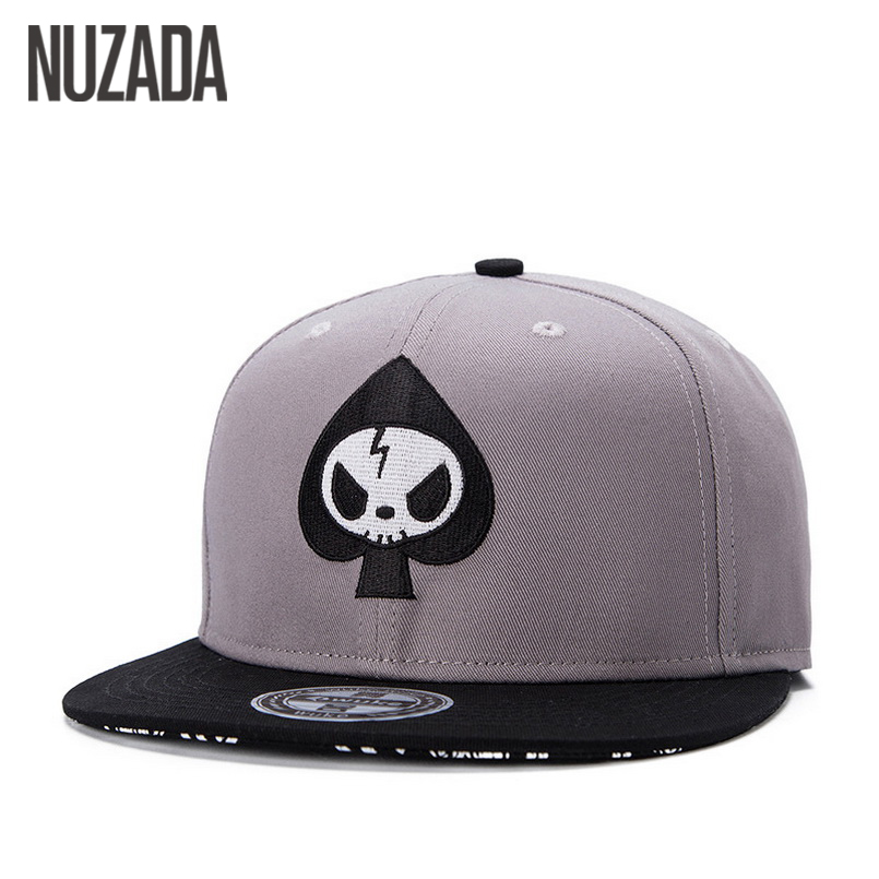Brands NUZADA Fashion Embroidery Men Women Baseball Caps Bone Snapback Hip Hop Hats Quality Cotton Cap jt-065 high quality 2017 fashion adjustable hole letters embroidery design baseball caps men women hip hop streetwear snapback hats