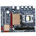 Nueva totalmente de estado sólido X58 1366-pin apoyo L5520 E5520 Xeon X5650 CPU DDR3 placa base