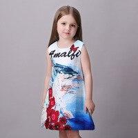 High Quality Milan Creations Girls Dress For Children Elegant Summer Girls Prom Princess Costume Child Age