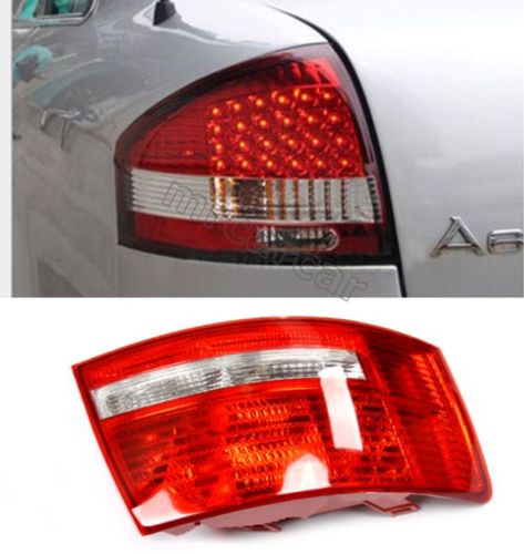 Car ABS Rear Signal Light Halogen Tail Lamp Fit for Audi A6 C6 Sedan 2005 - 2008 free shipping for skoda octavia sedan a5 2005 2006 2007 2008 left side rear lamp tail light
