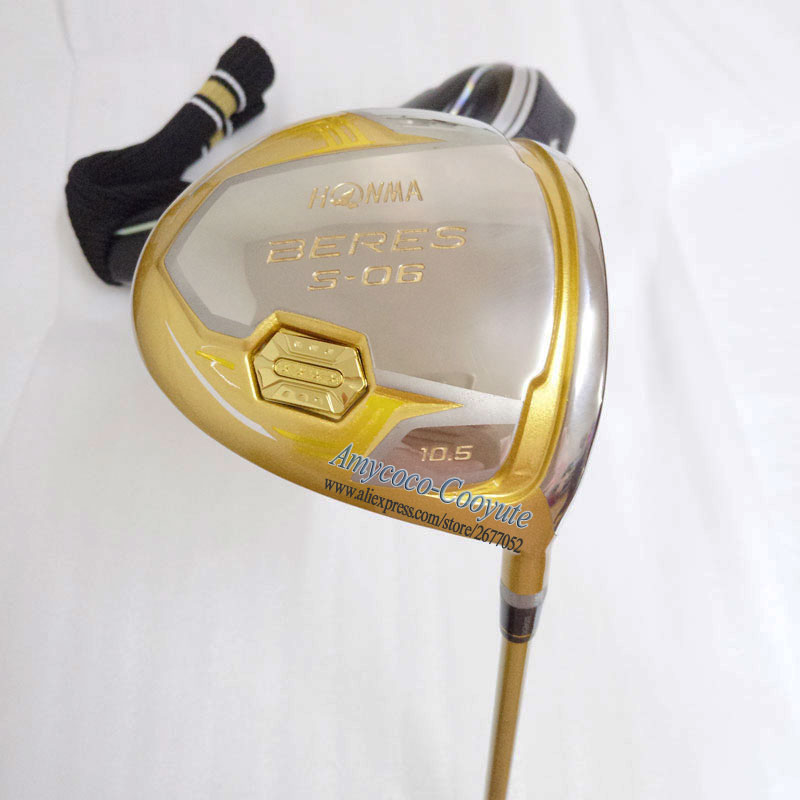 Image 5 - New Golf clubs 4 Star HONMA  S 06  Golf driver 9.5 or 10.5 loft Clubs Graphite shaft R or S Golf shaft Cooyute Free shipping-in Golf Clubs from Sports & Entertainment