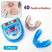 Invisible Orthodontic Braces Dental Mouthguard Straighten Teeth Tray Orthotics Retainer Crowded Irregular Corrector