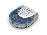 Прозрачный Портативный CD проигрыватель Walkman CD плеер CD-R/CD-RW